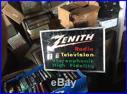 Vintage Zenith Lighted Sign